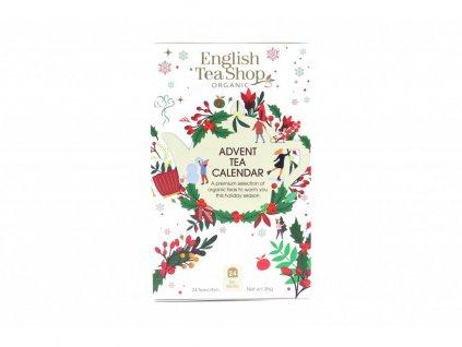 English Tea Shop Adventní čajový kalendář 25 sáčků bílá krabička