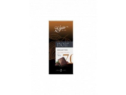 Elysia Hořká čokoláda Noir 70% 100g
