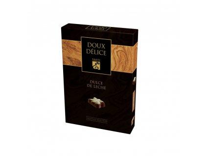 Emoti Belgické pralinky z mléčné čokolády s Dulce de Leche kreme 125g