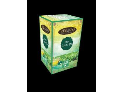 Regalo Pure Green Tea Zelený sáčkový čaj 20x2g
