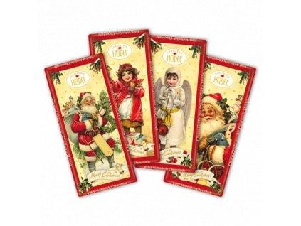 Heidel Vánoční mléčná čokoláda 30g
