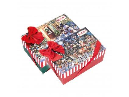 Sorini Vánoční bonboniéra s mašlí 300g