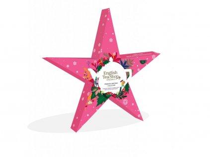 English Tea Shop Růžová vánoční hvězda 12g