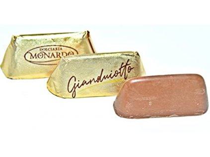 Monardo Gianduotti Italský lískooříškový nugát 1kg (cca 100ks)