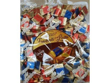 Monardo Tegolini Mléčné a hořké čokoládky 1kg(165ks)