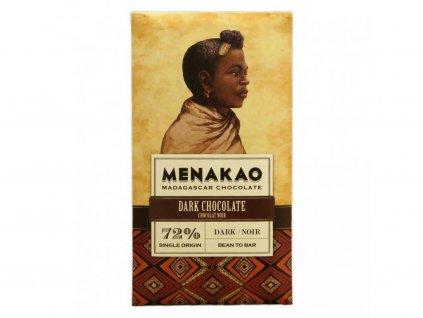 Menakao Hořká čokoláda 72% 75g
