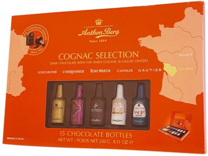 Anthon Berg Liquers Cognac Selection 230g