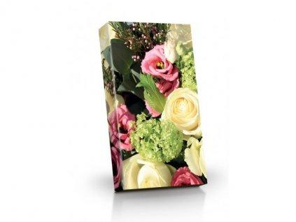 Květiny Pohárky s příchutí irského krému 125g