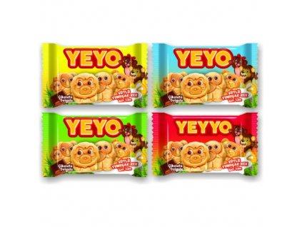 Yeyo Dortík s čokoládovou náplní 30g