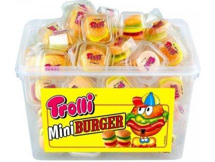 Trolli Mini burger želé 60x10g