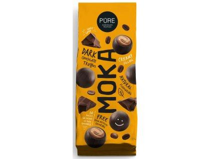PURE Moka Čokoládové truffle s mocca náplní 60g