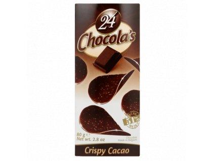 Hamlet Chocola's Choc Hořké čokoládové chipsy 80g