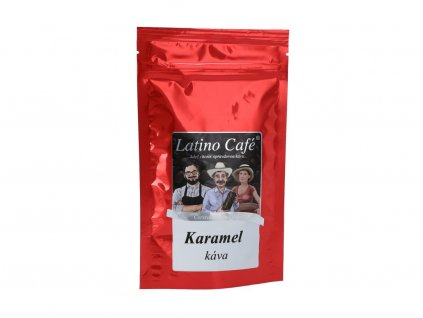 Zrnková káva karamel 100g