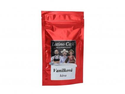 Zrnková káva s aroma vanilky 100g