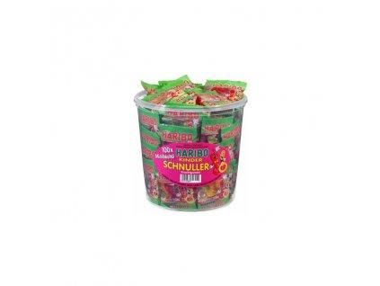 Haribo Kinder Schnuller Mini -Želé bonbony dudlíci v mini sáčcích 1000g (100 ks)