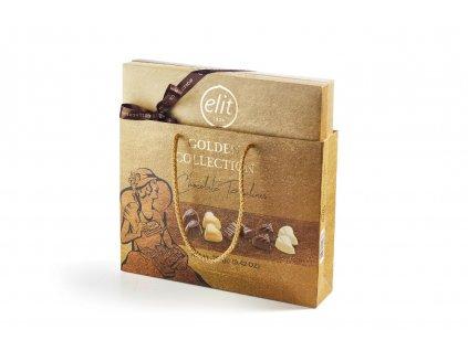 Elit Golden Collection Výběr čokoládových pralinek s náplní 267g