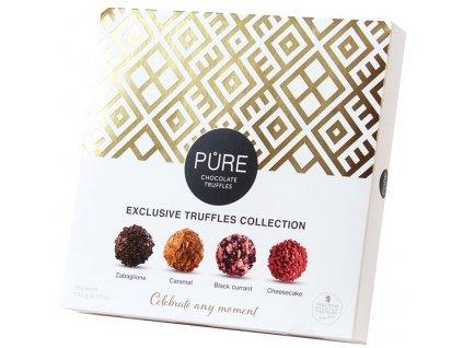 Pure Bonboniéra z mléčné čokolády a čokoládových truffles 135g