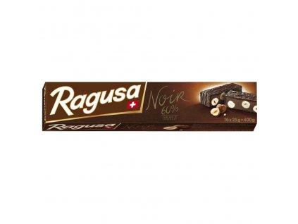 Camille Bloch švýcarská čokoláda Ragusa hořká 60% s ořechy a nugátem 400g