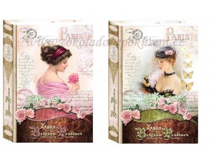 Masha Belgické pralinky Kniha New design 200g