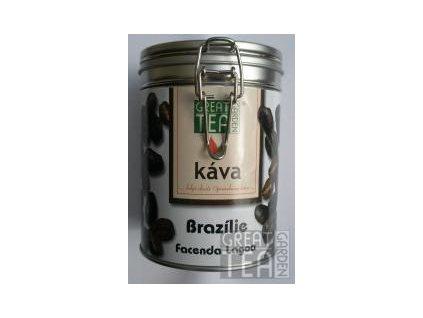 Great Garden Tea káva Brazílie Facenda Lagoa v dóze s hermetickým uzávěrem 200g