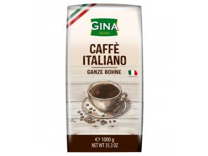 Zrnková káva Gina Caffé Italiano 1kg