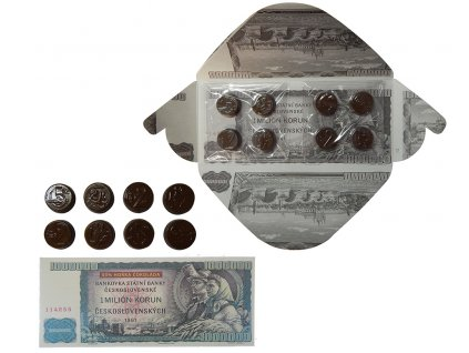 Fikar Bankovka 1 Milión Korun hořká čokoláda 60g