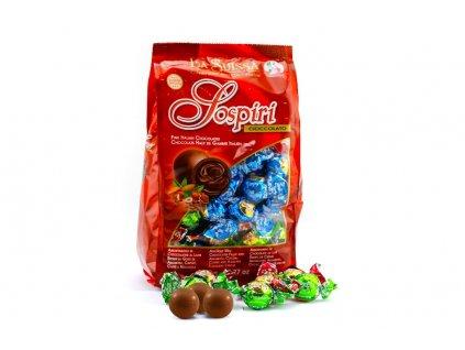 La Suissa Sospiri mix Směs mléčných čokoládových bonbónů 1kg