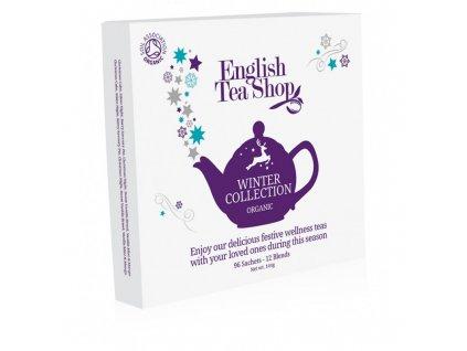 English Tea Shop Vánoční kolekce čajů winter v papírové kazetě 96 n.s.