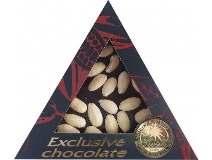 Severka Hořká čokoláda s mandlemi 60g