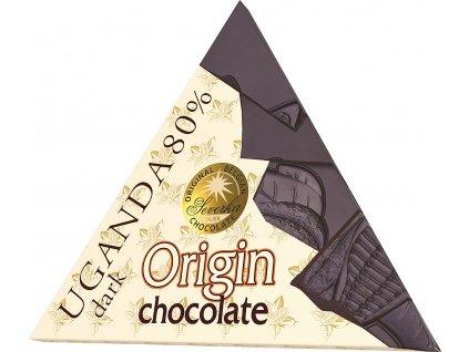 SEVERKA Hořká čokoláda Origin Uganda 50g