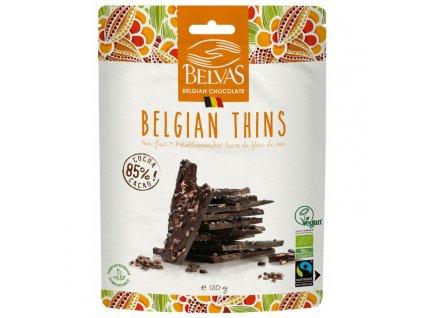 Belvas Lámaná hořká čokoláda 85% 120g
