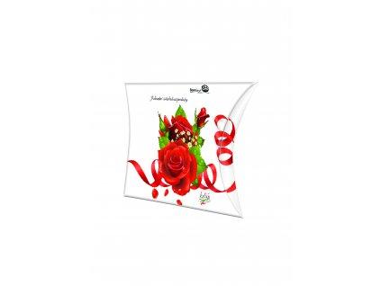 Pralinky červená růže kapsička 52,5g