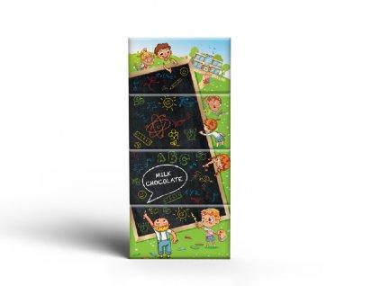 Mléčná čokoláda Zpět do školy 4x15g