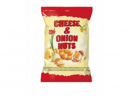 Crispy Peanut Oříšky v těstíčku Sýr a Cibule 200g