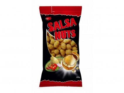Crispy Peanuts Spicy salsa Oříšky v pikantním těstíčku 200g