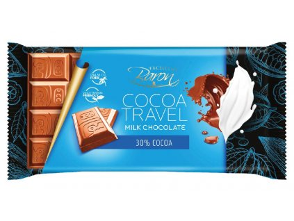Baron Cocoa Milk Travel Mléčná čokoláda 90g