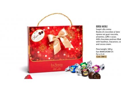 La Suissa Luxusní vánoční balení Italských pralinek 500g