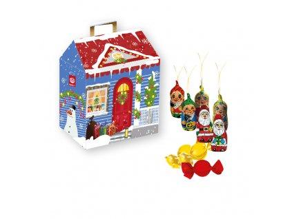 Born Syn Modrý vánoční domeček 80g