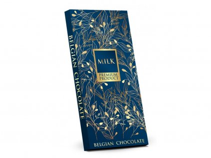 Belgická mléčná čokoláda (modrý obal) 400 g