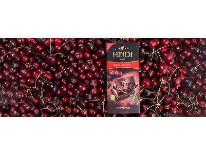 Heidi Sour Cherry 80g
