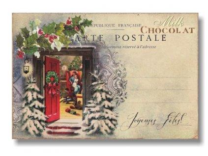 Čokoládové psaníčko Vánoce 20g 2ks