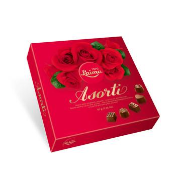 Laima Asorti Výběr čokoládových pralinek 95g