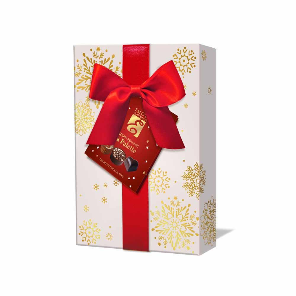 Emoti de chocolat Emoti Dárkové balení Belgických pralinek La Palette 120g