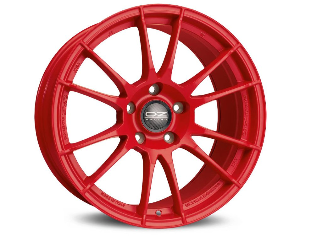 OZ ULTRALEGGERA HLT 20x11,5 5x130 ET70 RED