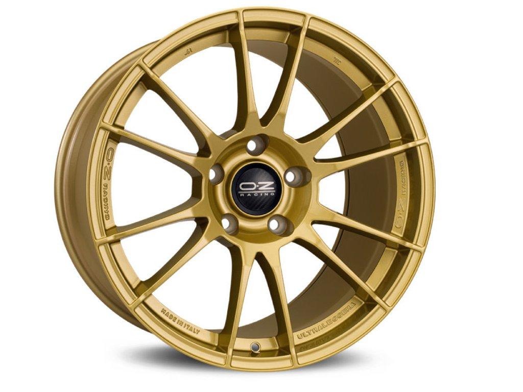 OZ ULTRALEGGERA 17x8 5x100 ET48 RACE GOLD