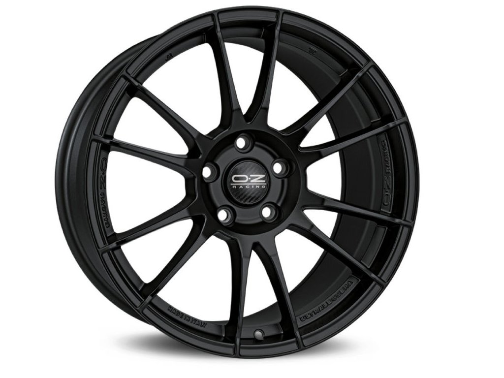 OZ ULTRALEGGERA 18x8 5x100 ET35 MATT BLACK