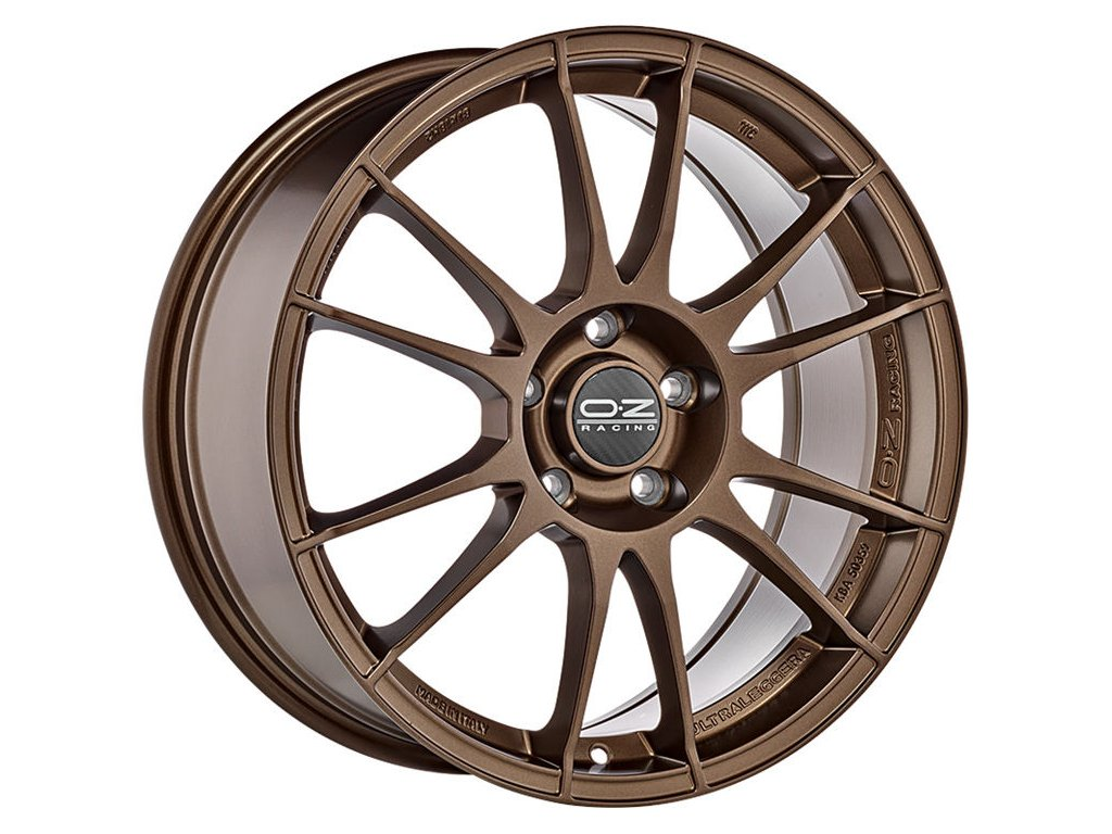 OZ ULTRALEGGERA 15x7 4x100 ET37 MATT BRONZE