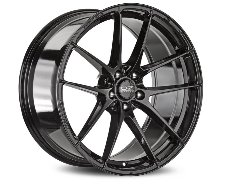 OZ ULTRALEGGERA HLT 19x11 5x130 ET40 GLOSS BLACK
