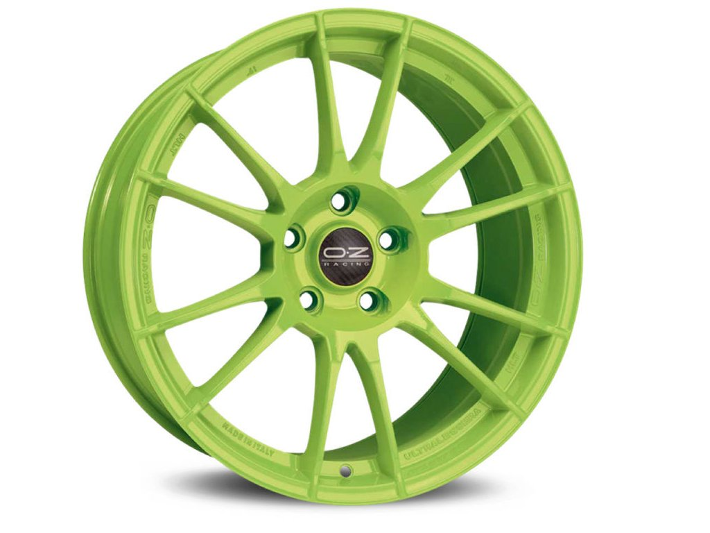 OZ ULTRALEGGERA HLT 19x11 5x130 ET40 ACID GREEN