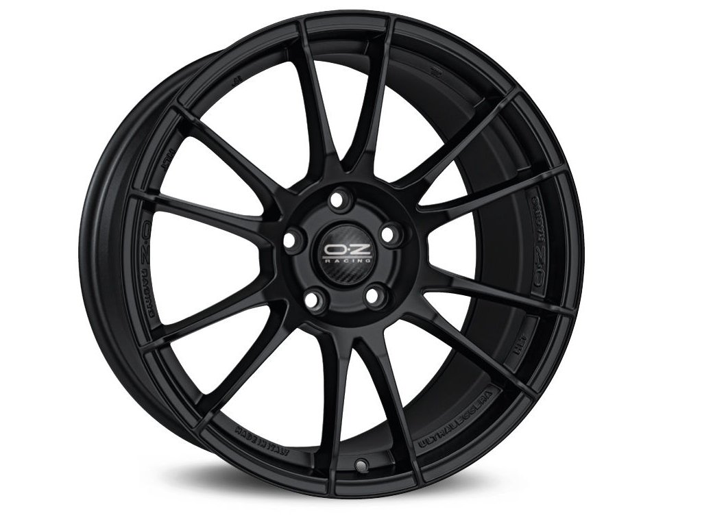 OZ ULTRALEGGERA HLT 19x12 5x130 ET51 MATT BLACK